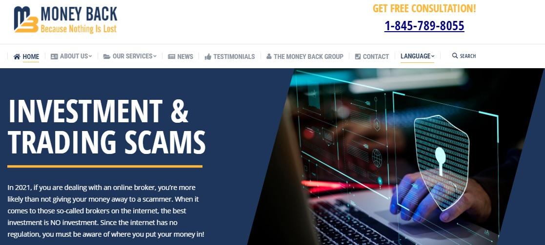 Money-Back website